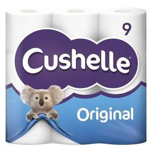Cushelle Toilets Roll PK9 1 @ Poundshop (Min £20 spend + £4.95 delivery)