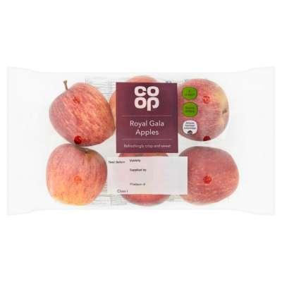 Co-op 6 Royal Gala Apples 99p