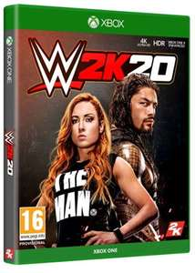 WWE 2K20 (Xbox One) - £34.85 @ Base