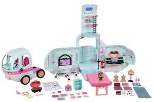 L.O.L Surprise! 2-in-1 Glamper Fashion Camper with 55+ Surprises @ Amazon - £80