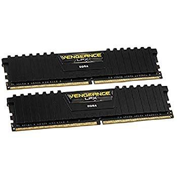 Corsair CMK32GX4M2B3000C15 Vengeance LPX 32 GB (2 x 16 GB) DDR4 3000 MHz C15 £109.99 @ Amazon
