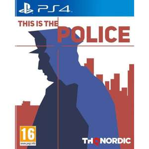 This is police PS4 £5.95 @ The Game Collection