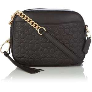 Coach embossed signature leather camera bag £125 +£4.99 delivery @ Sports Direct