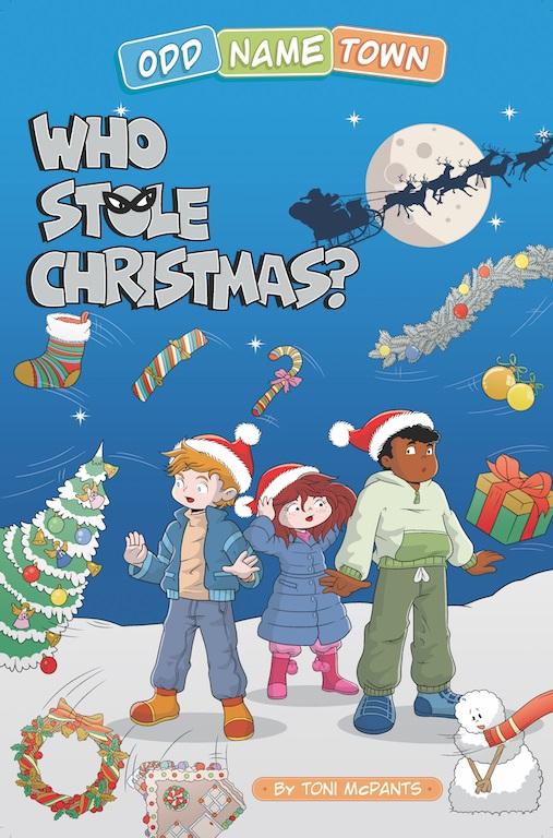 Odd Name Town: Who Stole Christmas (Children's Book) FREE @ Amazon Kindle