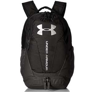 Under Armour Hustle 3.0 Water Resistant Backpack, Waterproof Bag with Two Compartments - £26.99 Delivered @ Sports Direct via Amazon