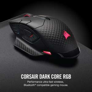 Corsair Dark Core RGB Wireless/Wired Mouse (16k DPI Optical Sensor, 9 Programmable Buttons, RGB, Xbox One Compatible) - £45.59 @ Amazon
