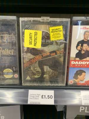 DVD Boxsets (Daddy's Home, Jurassic Park, Pitch Perfect) - £1.50 Instore @ Tesco (Newcastle)