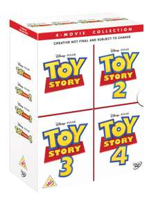 Toy Story 1-4 DVD Boxset @ Zoom for £22.49 Delivered (Using Code)