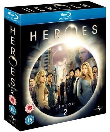 Heroes Season 2 Blu Ray £2.99 Amazon Prime (+ £2.99 Non Prime For Postage)