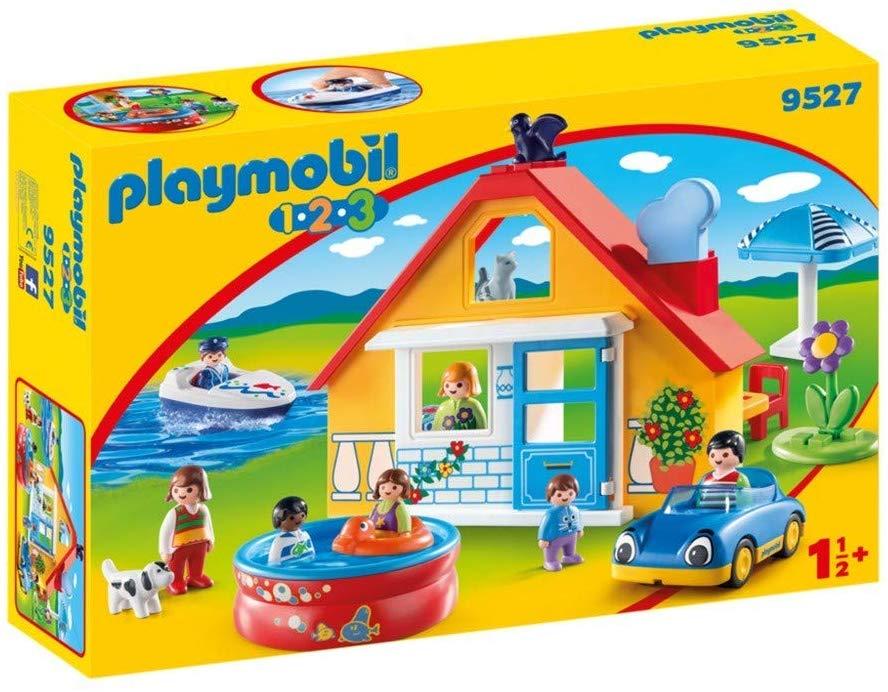 Playmobil Holiday Home, 9527, Coloured £16 prime + £4.49 non prime @ amazon