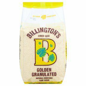 Billington's Golden Granulated Sugar 1kg £1.33 at Waitrose & Partners