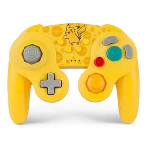 Pikachu Pokémon Wireless GameCube Style Controller for Nintendo Switch £24.99 @ Smyths (free click and collect)