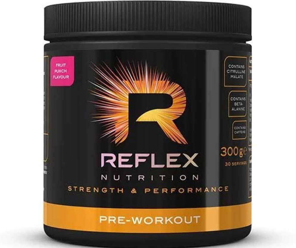 Reflex Nutrition Pre Workout Powder, Fruit Punch, 300g £6.99 (Prime) / £11.48 (non Prime) at Amazon