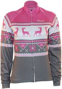 Scimitar Xmas Fairisle Cycling Jersey £5.00 + £2.99 delivery @ Cycle Republic