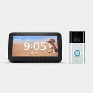 Get a FREE Amazon Echo Show 5 With A Ring Video Doorbell 2 Purchase £161.10 @ EDF Smart Home Store With Code