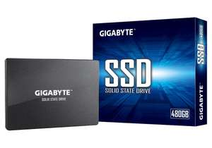 """Gigabyte 480GB 2.5"""" SATA III SSD Up to 550MB/s Read, 480MB/s Write for £42.98 Delivered @ Cclonline"""