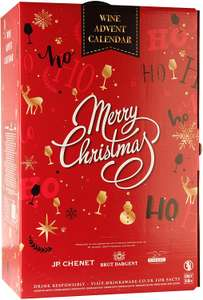 Wine and Sparkling Advent Calendar, Case of 24 small bottles of red, white and sparkling £44.66 @ Amazon