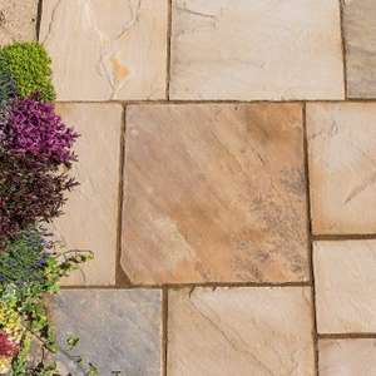 Kelkay Natural Sandstone Patio Pack (10.2 m2) £76.47 Dobbies Garden Centre