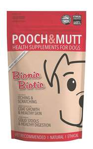 Pooch & Mutt - Health Supplement for Dog Digestion - Bionic Biotic, 200g £5.83 (Prime + £4.49 NP) £5.54 S&S @ Amazon