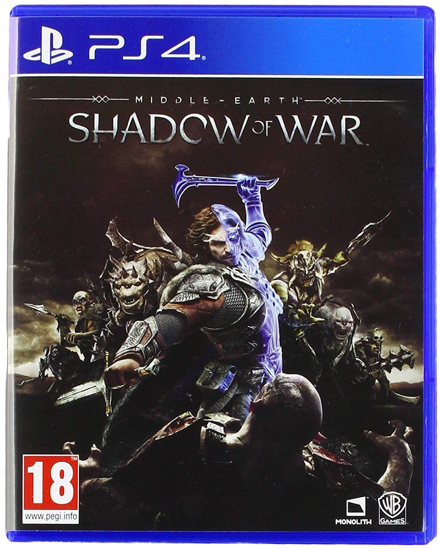 PS4 Shadow of War £7.95 / XBox £6.95 at Base.com