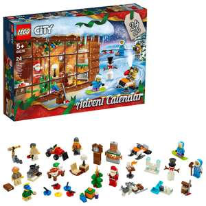 Lego 60235 City Calendar AND 2 Lego Movie 2 Minifigures £16.00 using code TOYS20 @ Argos