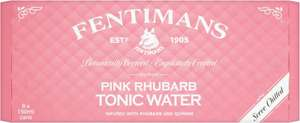 Fentimans pink rhubarb tonic water 8x150ml and also grapefruit £1.49 at B&M
