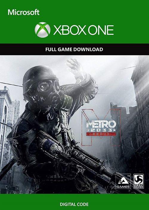[Xbox One] Metro 2033 Redux - £2.49 @ CDKEYS