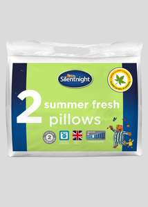 Silentnight Summer Fresh Pillow Pair - £5.00 @ Matalan. Free Click & Collect