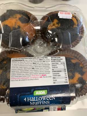 Halloween muffins reduced to £0.25 @ Asda instore