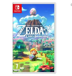 Zelda link's awakening nintendo switch £39.85 @ Base