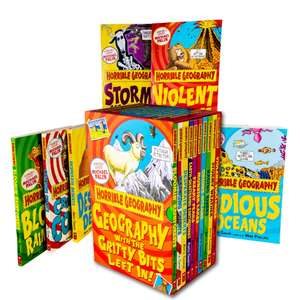 Horrible Geography 10 Book Collection £7.99 Delivered @ Books2Door