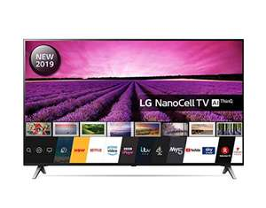 LG 49SM8500PLA 49 Inch UHD 4K HDR Smart NanoCell LED TV with Freeview Play - Black (2019 Model) £599 @ Amazon