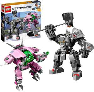 LEGO 75973 Overwatch D.Va & Reinhardt Minifigures with Mech Suits £27.20 Amazon