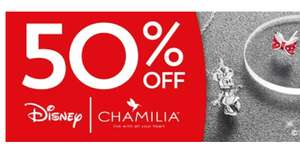Chamilia Disney jewelry up to 80% off. Items from £7. further reduced from 50%