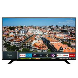 "Toshiba 58U2963DB 58"" Smart 4K Ultra HD TV with HDR10 and Dolby Vision £331.55 Delivered Using Code @ AO / eBay"