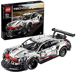 LEGO 42096 Technic Porsche 911 RSR Race Car Advanced Building Set, Exclusive Collectible Model £99.07 Amazon