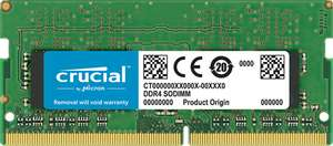 Crucial 16GB DDR4 2400 SODIMM RAM (CT16G4SFD824A) - £55.19 delivered @ Crucial