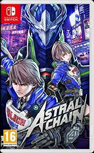 Astral Chain (Nintendo Switch) Standard Physical edition £34.99 - Amazon