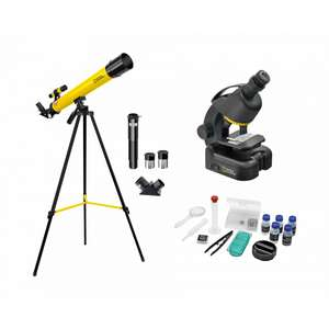 National Geographic Telescope and Microscope Set £35.99 with free Click & Collect @ Ryman