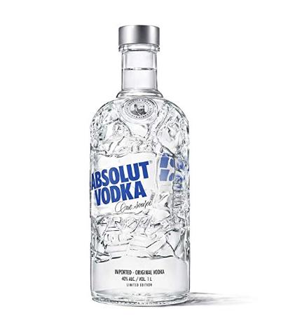 Absolut Vodka 1l Limited Edition bottle £20 @ Amazon