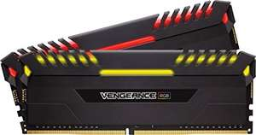 Corsair Vengeance RGB 16 GB (2 x 8 GB) DDR4 2666 MHz C16 XMP 2.0 Enthusiast RGB LED Illuminated Memory Kit. £63.99 Delivered @ Amazon Spain