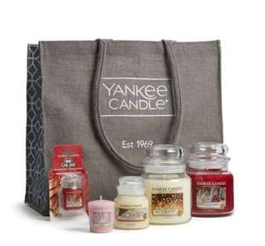 Yankee Candle festive goodie bag gift set £18 @ Cheshire Oaks McArthur Glen