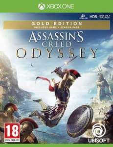 Assassins Creed Odyssey Gold Edition (Xbox One) for £21.85 delivered @ ShopTo