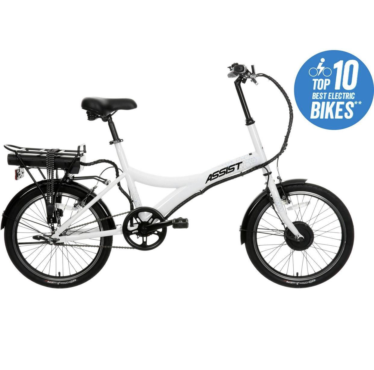 "Assist Hybrid Electric Bike - 20"" Wheel £398 @ Halfords"