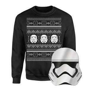 Star Wars Christmas Jumper And Mirror £21.98 Delivered @ Zavvi