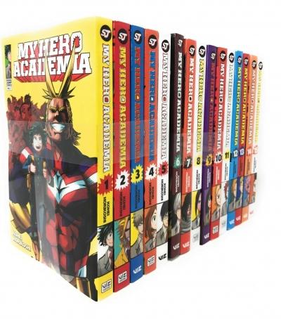Kohei Horikoshi My Hero Academia Collection Series 15 Books Set (1-15) - £51.99 @ Snazal