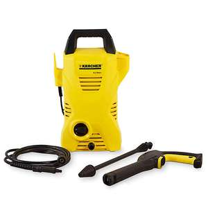Karcher K2 Basic Pressure Washer 1400W / 110 bar + 2 Year Guarantee - £55.25 Using Free Click & Collect @ B&Q