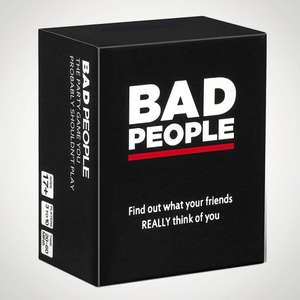 Bad People Card Game for Adults £22.50 free Click & Collect @ Menkind