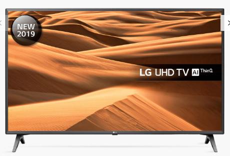 LG 50UM7500 (2019) LED HDR Ultra HD Smart TV - including 5 year guarantee £448 @ John Lewis & Partners