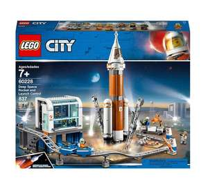 LEGO 60228 City Deep Space Rocket and Launch control £59.99 @ Smyths toys